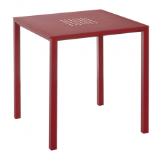 Table Carrée Rouge Jolly Emu JardinChic