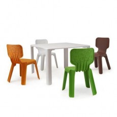 Table pour enfant Linus Blanc Me Too Magis Collection JardinChic