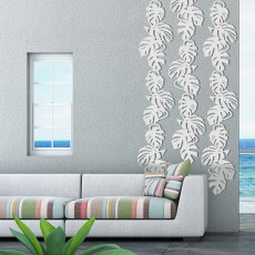 Composition Treille Monstera Liana Blanche Palissadesign Jardinchic