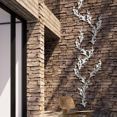 Composition Treille Prunus Liana Blanche Palissadesign Jardinchic