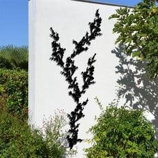 Composition Treille Prunus Liana Noire Palissadesign Jardinchic