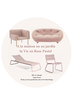 Parution Web Mapresse Paris Tendance Rose Pastel Jardinchic