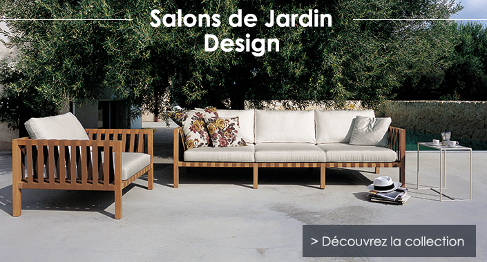 Salon de jardin design jardinchic - Salon de jardin marque jardin ...