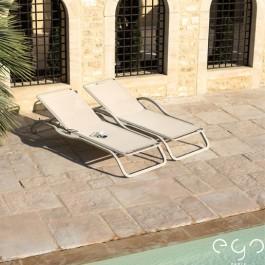 Bains de soleil Marumi Sable/Chanvre GO Paris Jardinchic
