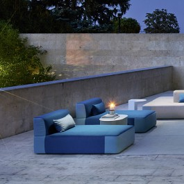Daybed Belt Imperiale - Azzurro Varaschin Jardinchic