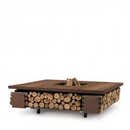 Compartiment à Bois pour Braséro Tavolo AK47 Design Jardinchic