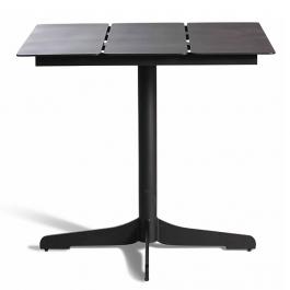 Table Bistro Ceru 70x70 Noir Oasiq Jardinchic