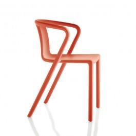 Chaise Air Chair avec Accoudoirs Orange Magis Jardinchic