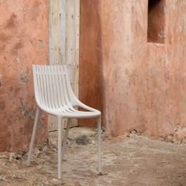 Chaise Ibiza Ecru Vondom Jardinchic