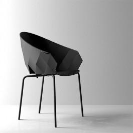 Chaise Noir Vases Vondom JardinChic
