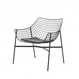 Coussin d'assise pour Fauteuil Lounge Summer Set antracite Varaschin Jardinchic