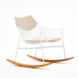 Coussins d'Assise et de Dossier pour Rocking Chair Summer Set Varaschin Jardinchic