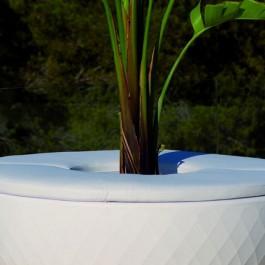 Coussin Pour Banc / Jardinière Isla Vases Nautic Blanc Vondom Jardinchic