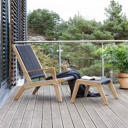 Deck Chair et Repose-pied Skagen Oasiq Jardinchic