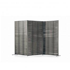 Extension Verticale pour Paravent Wing Vertical Structure Smoke / Sangles Grey avec 2 Paravents Wing Vertical Structure Smoke / Sangles Grey vendus séparément Roda Jardinchic