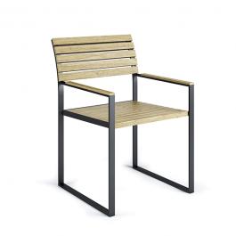 Chaise Avec Accoudoirs Garden Bistro Roshults JardinChic