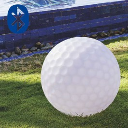 Boule Lumineuse Golfball Bluetooth® Smart And Green Jardinchic