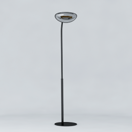 Lampadaire Chauffant Simple Hotdoor Modèle Court Noir/Chrome Phormalab JardinChic