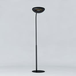 Lampadaire Chauffant Simple Hotdoor Modèle Court Noir/Noir Phormalab JardinChic