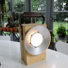 Lampe Portable à Batterie Block Bloom Jardinchic