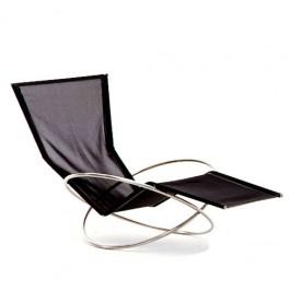 Chaise Longue Loop Noir Coro JardinChic