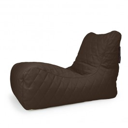 Pouf Lounge Premium Molletonné Brown Pusku Pusku Jardinchic