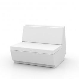 Canapé Modulable Rest - Module Central Blanc Vondom Jardinchic