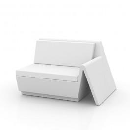 Canapé Modulable Rest - Module Gauche Blanc Vondom Jardinchic
