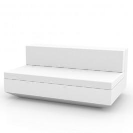 Canapé Modulable Vela - Module Central XL Blanc Vondom Jardinchic