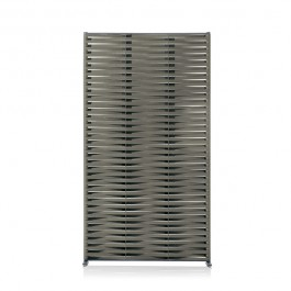 Paravent Wing Vertical Structure Smoke / Sangles Grey Roda Jardinchic