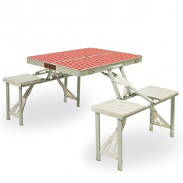 Ensemble Table Pic&Nic Portable Seletti Jardinchic