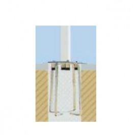 Platine de Scellement pour Parasol Pagoda Vlaemynck Jardinchic