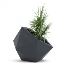 Pot Dione Anthracite Pdconcept Jardinchic