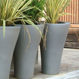 Pot Ming High Gris Serralunga JardinChic