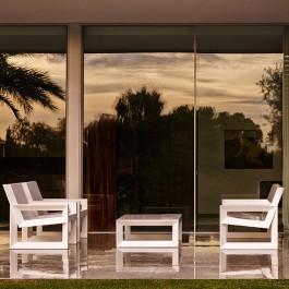 Salon de jardin Frame Blanc (attention version laquée sur demande) Vondom Jardinchic