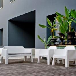 Salon de Jardin Lounge Plus Air Ambiance Terrasse Pedrali JardinChic