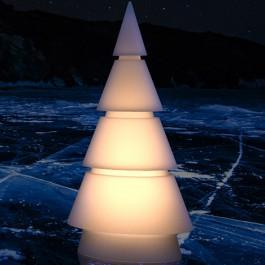 Sapin Lumineux Forest RGB sur Batterie Vondom Jardinchic
