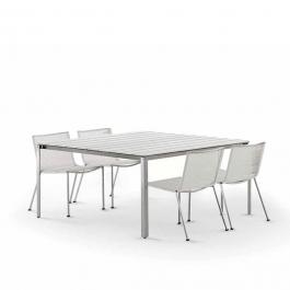 Table Carrée Shot Polyuréthane Coro Jardinchic