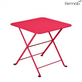 Table Basse Carrée Tom Pouce Rose Praline Fermob Jardinchic
