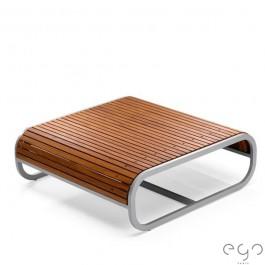 Table Basse Carrée Tandem Teck EGO Paris JardinChic