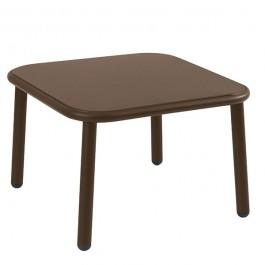 Table Basse Carrée Yard Marron d'Inde Emu JardinChic