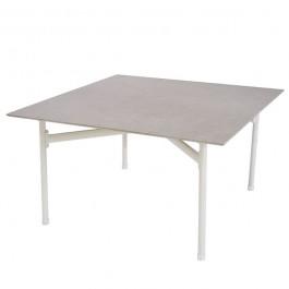 Table Basse Kira Blanc Cassé/Marron Emu JardinChic