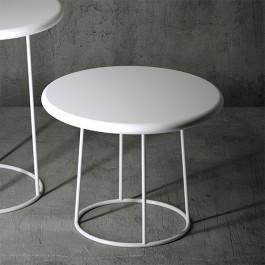 Table Basse Olivia H50cm Blanc Serralunga JardinChic