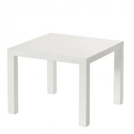 Petite table basse round blanc casse Emu JardinChic