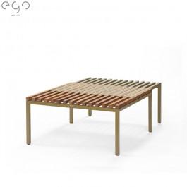 Table Basse Sutra Kaki Teck Semi Ouverte EGO Paris Jardinchic