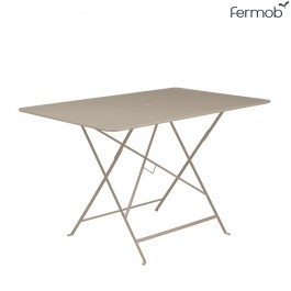 Table Bistro 117 x 77cm Muscade Fermob Jardinchic