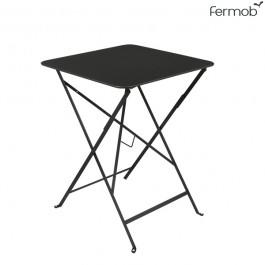 Table Bistro 57 x 57cm Réglisse Fermob Jardinchic