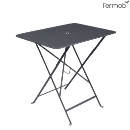 Table Bistro 77 x 57cm Carbone Fermob Jardinchic