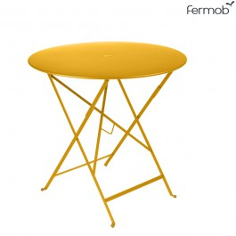 Table Bistro Ø77cm Miel Fermob Jardinchic