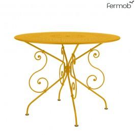 Table de repas 1900 Ø96cm Miel Fermob Jardinchic